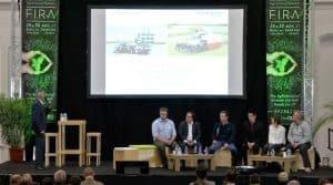 Le FIRA 2017 direct, forum international de la robotique agricole diffusé en direct par Naïo Technologies sur Youtube.