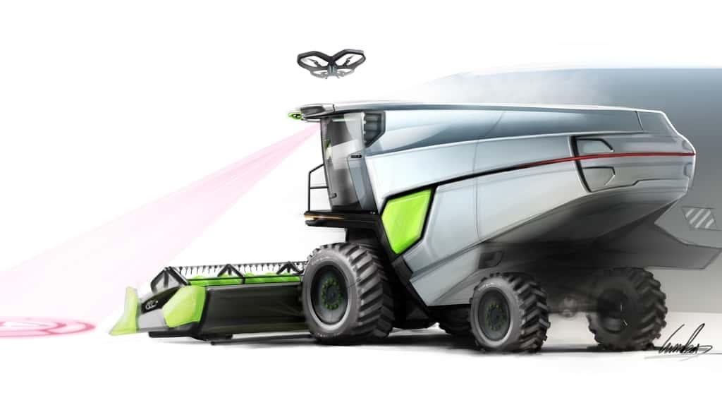 smart cab cabine du futrue secteur agricole