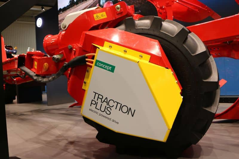 roue traction plus pottinger charrue