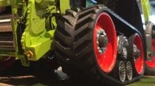 claas agritechnica 2017 chenille