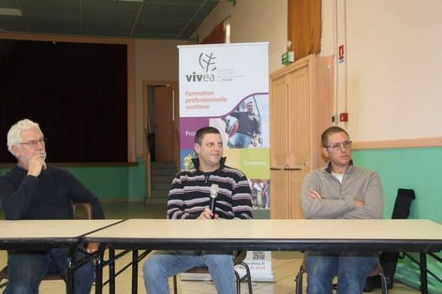 Les responsables de la cuma de Rimontboeuf ont témoigné le 6 novembre du parcours de formation qui a permis d'améliorer les pratiques de la cuma et dessiner son avenir …