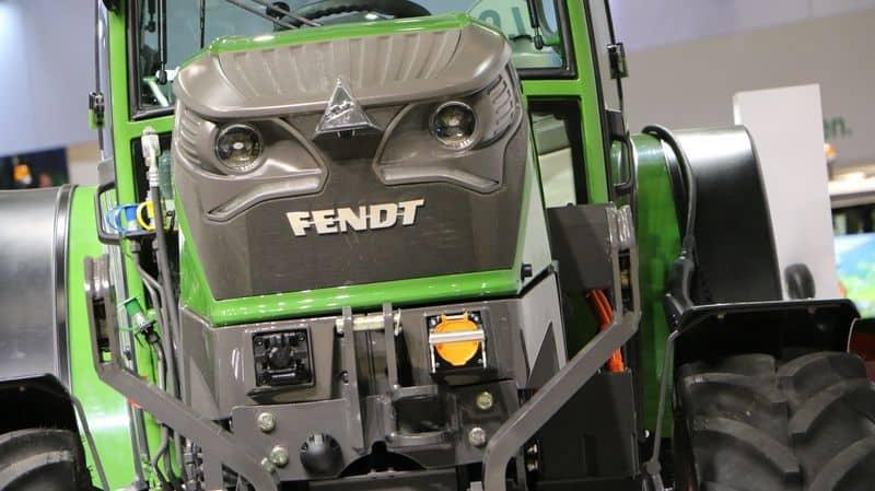 Tracteur electrique Fendt E 100 Vario