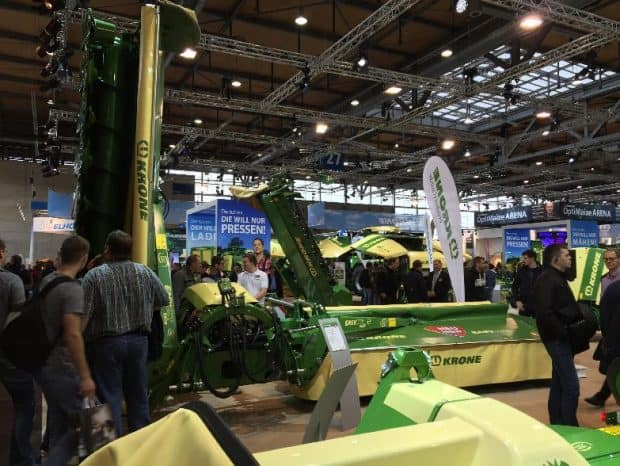 groupe fauche andaineur vis krone easycut b950 collect