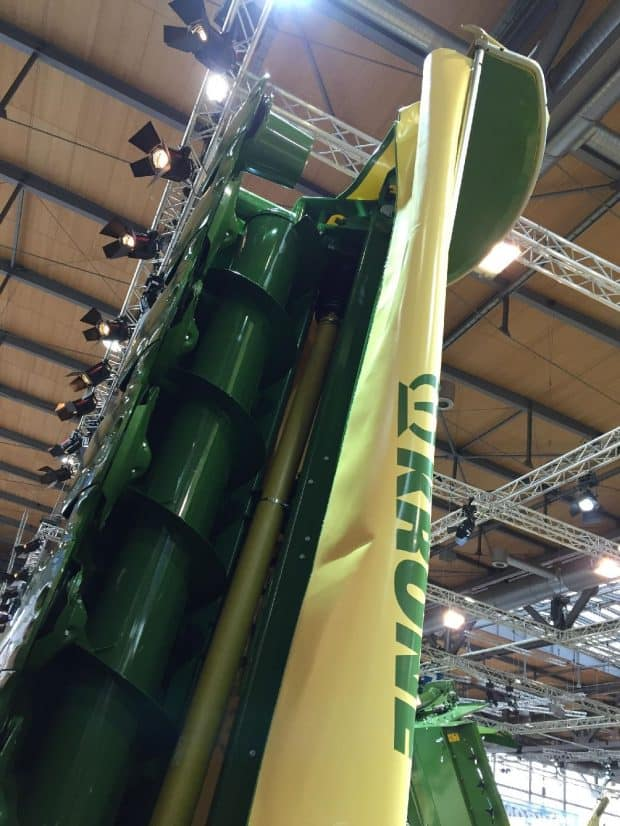 Krone agritechnica 2017 faucheuse