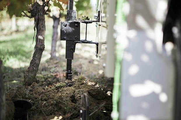 Robot Ted Avis essai commentaires test Naïo Technologies robotique agricole