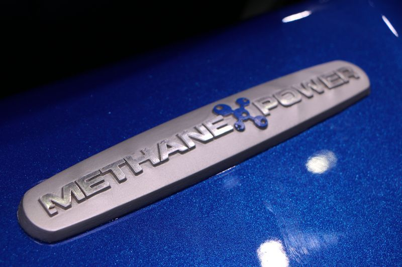Tracteur New Holland Methane Power T6