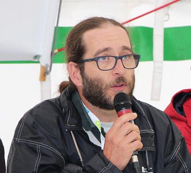 Stéphane Martignac, référent fourrages à la chambre d'agriculture de Corrèze.