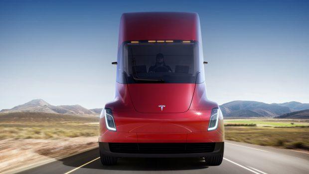 Tesla Semi tracteur electrique