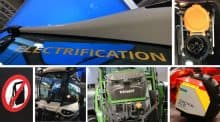 Tracteur élecrtique agritechnica 2017 video entraid