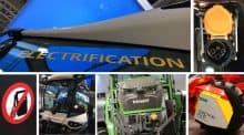 Tracteur élecrtique agritechnica 2017 video entraid