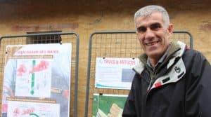 L'éleveur assurait la présentation de son système de production lors d'une porte ouverte