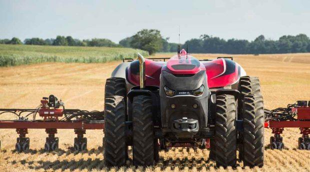 Robot autonome tracteur case ih