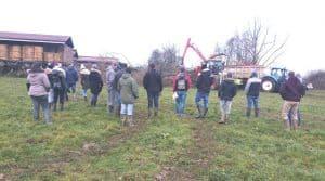 compostage, déchiquetage, plaquettes, paille, cuma Compost 71, cuma Terr'eau, Saône et Loire, Nièvre