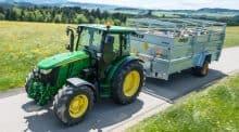 tracteur et bétaillère