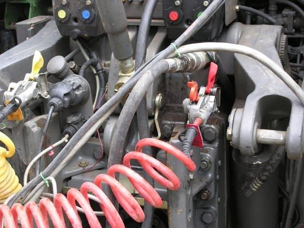 frein pneumatique sur tracteur