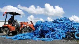 Recyclage de plastique