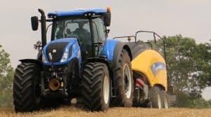 Part de marche tracteur 2017 john deere Fendt