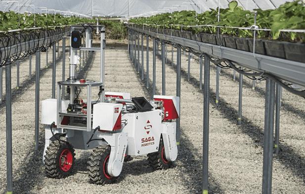 saga robotic robot agricole