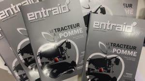 Entraid magazine presse agricole valtra essai tracteur