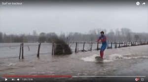 Tracteur surf en Charentes : ils se sont inspirés d'Entraid' pour créer le buzz