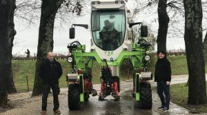 Tracteur enjambeur électrique Kremer