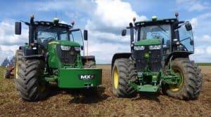 Tracteurs John Deere 6r 7r puissance travail du sol test essais tracteur frcuma ouest