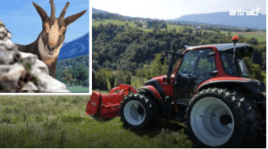Lindner Lintrac Essai tracteur : essai du mois du magazine Entraid de février 2018.