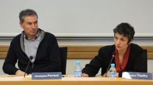 Deux témoins étaient invités à parler d'emploi partagé à l'AG de la FRCUMA ouest