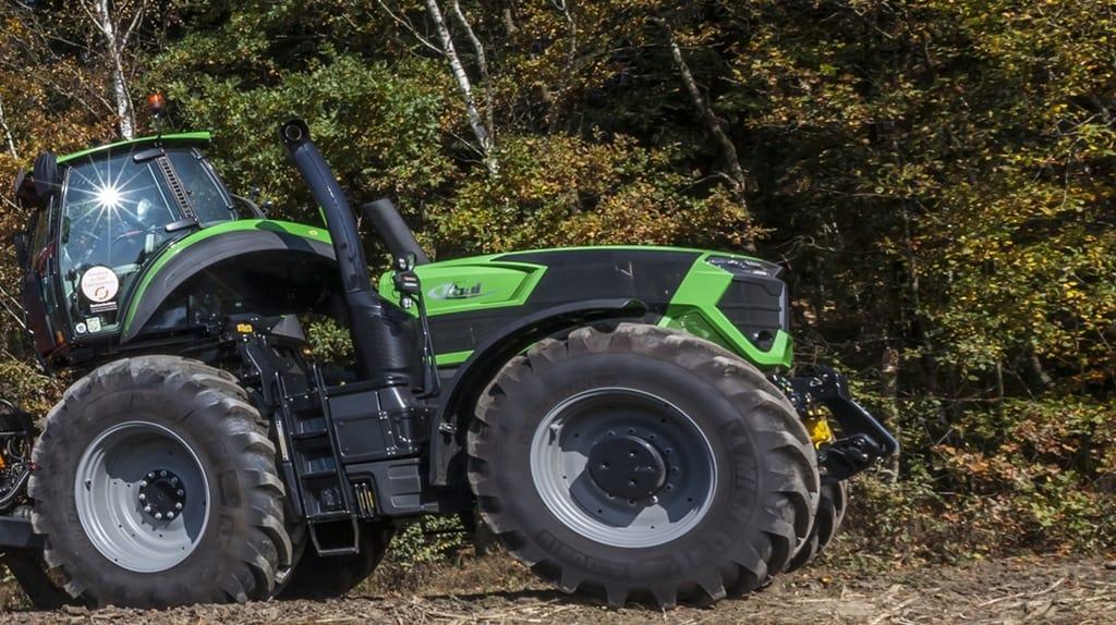 tracteur Deutz-Fahr TTV 9340 Agrotron : une cabine spéciale qui peut surprendre