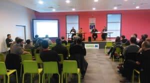La Fédération des cuma des Charentes a organisé le 25 janvier, une réunion sur la lutte antigel suite aux dégâts sur la vigne charentaise, survenus en avril 2017. Le Président de la cuma Protect'gel a relaté son expérience
