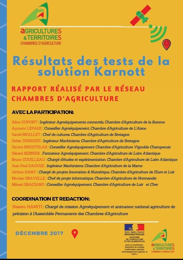 Essai de 10 bo tiers karnott entraid - Chambre d agriculture 14 ...