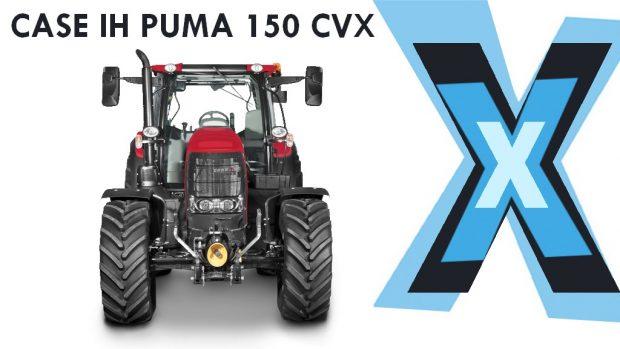 Le tracteur Case IH Puma 150 CVX aux rayons X