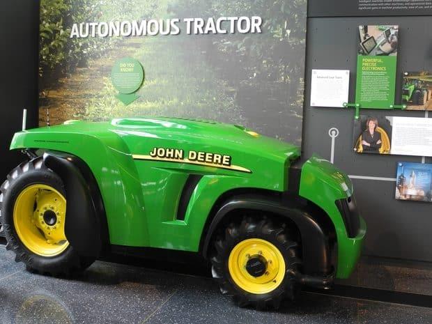 tracteur autonome john Deere