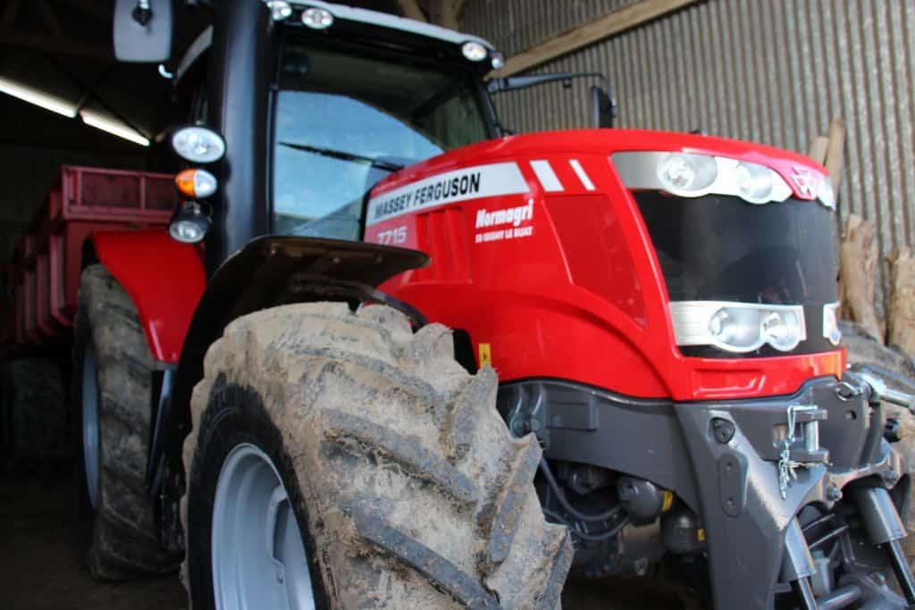 tracteur de cuma massey ferguson neuf en crédit bail dans la Manche