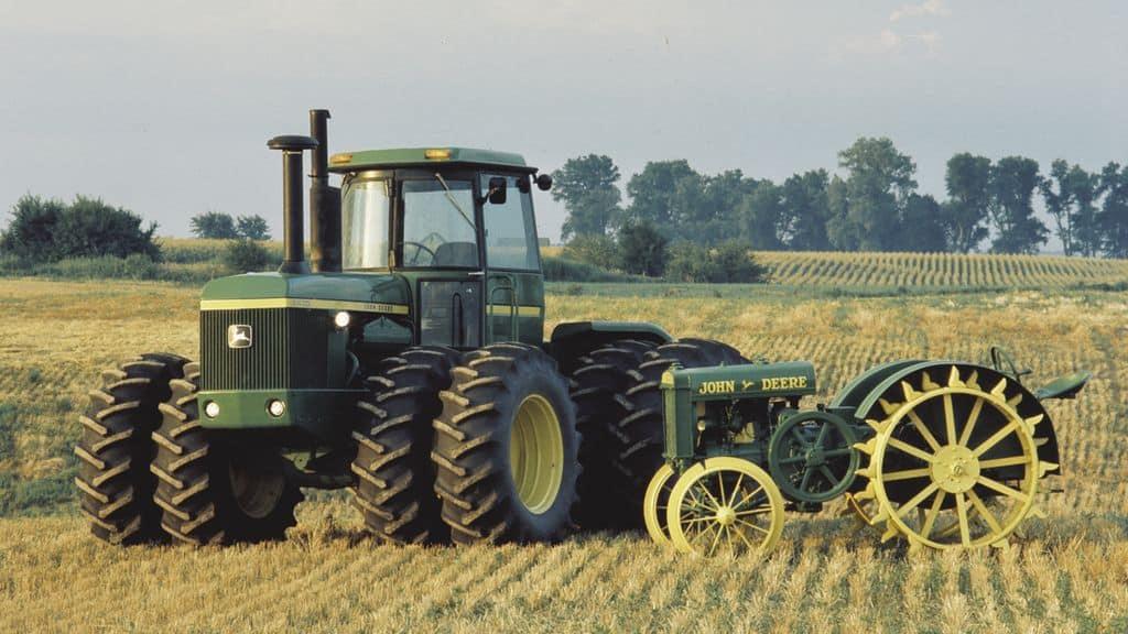 100 ans de production de tracteur John Deere