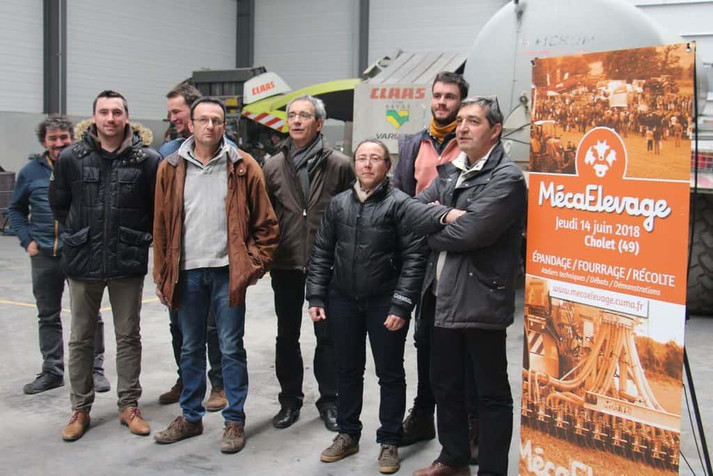 Avec les chambres d'agriculture des Pays de la Loire, le groupe Seenergi, Terrena et Aile, le réseau cuma de l'Ouest élabore un événement entièrement dédié aux solutions collectives (actuelles et futures) en élevage, ainsi que pour des systèmes intégrant de la méthanisation.