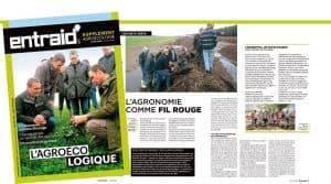 agroécologie : supplément Entraid' paru en Avril 2018.