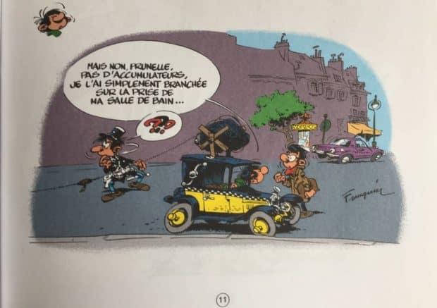 Gag extrait de Gaston T19 : Faites Gaffe à Lagaffe, aux éditions Dupuis.