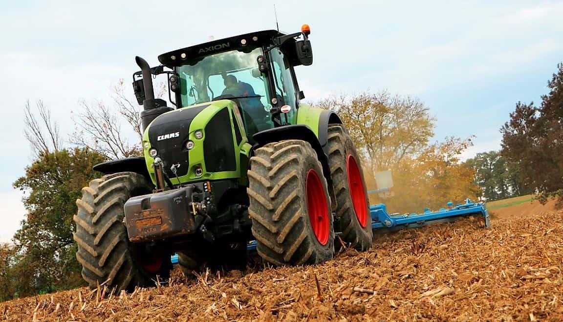 Essai claas axion 920 l 39 avis sur ce tracteur agricole 2018 - Image de tracteur ...