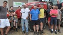 Deux cuma d'éleveurs très organisés pour les chantiers d'épandage et de curage. organisation