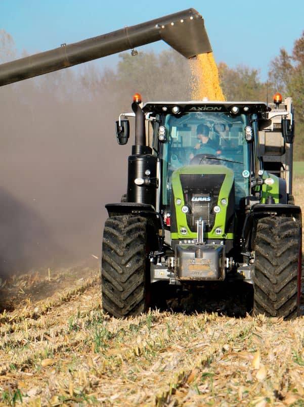 Essai Claas Axion 920 tracteur agricole