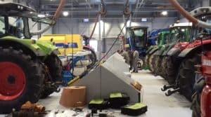 formations techniques maintenance soudure: vue de l'atelier de mécanique à Narcé