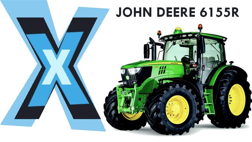 tracteur John Deere 6155R cout de détention
