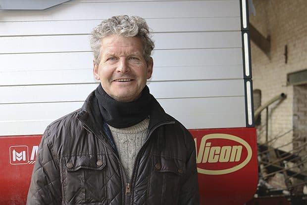Damien Guise, vice-président de la cuma Amandine depuis sa création.