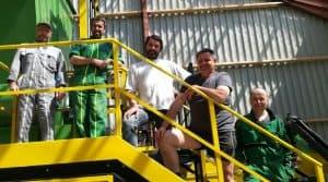 La presse compacteuse associée au séchoir en grange est un outil essentiel pour la maîtrise des contraintes de transport.
