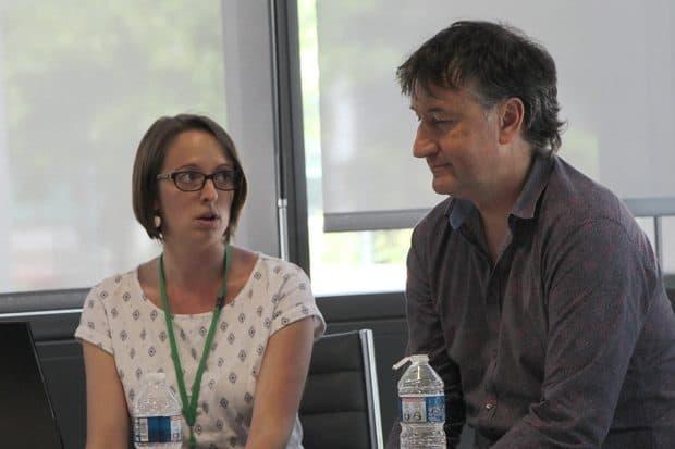 Marie-Flore Doutreleau et Pascal Ichanjou (Frcuma Occitanie)