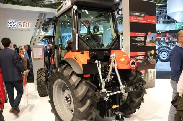 tracteur Same Frutteto CVT Active Steer
