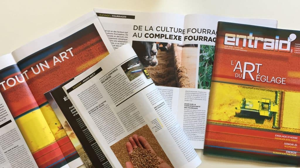 magazine entraid Édito et sommaire du magazine Entraid' du mois de juin 2018