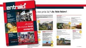 Morbihan agriculture : en cuma, des chantiers tout compris