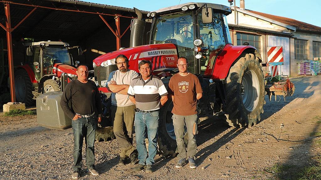 achat tracteur groupe tracteur cuma Montvendre